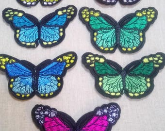 1 patch fusible Butterfly Butterfly