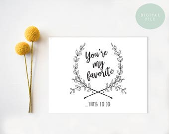 PRINTABLE Funny Anniversary Card  Anniversary Card  Dirty Valentine Card  Honest Valentine Card  INSTANT DOWNLOAD