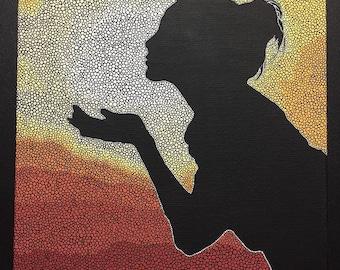 Lady Sunset  Print