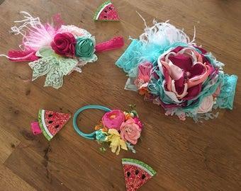 Matilda Jane Adventure awaits headband- Baby Girl Headband- baby Headband- Flower Girl Headband- Persnickety Headband- Photo Prop