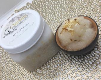 All Natural Exfoliating Sugar Scrub 16oz Jar