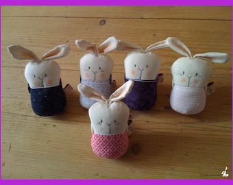 Smart Rabbit for your jewelry , lace, ribbons or messages...