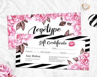 Lipsense Gift Certificate, Senegence Gift, Lipsense Gift Card, Makeup Gift, For Distributor, Sweet Rose Collection
