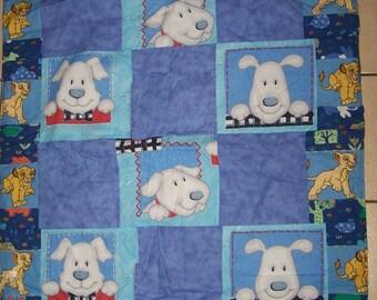 90X150CM way patchwork cot quilt