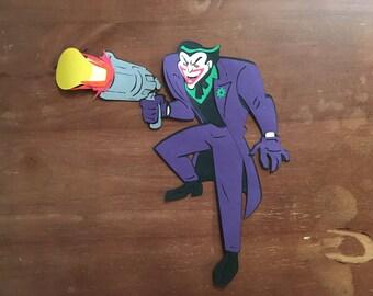 The Joker die cut
