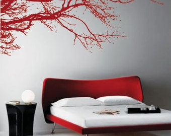 Winter Tree Wall Art / Wall Stickers / Wall Decals from AmazingSticker