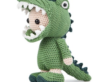 Croco Joe - US terms amigurumi pdf pattern
