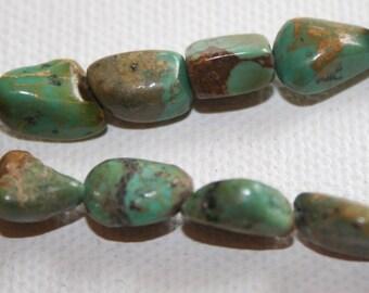 Gemstone - Turquoise Nuggets 10-12mm