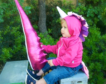 Fairy Tail, Girl Dinosaur Birthday, T-Rex Tail, Dinosaur Costume, Jurassic Park Costume, Girl Dinosaur Party, Dress up, Dinosaur Gift,