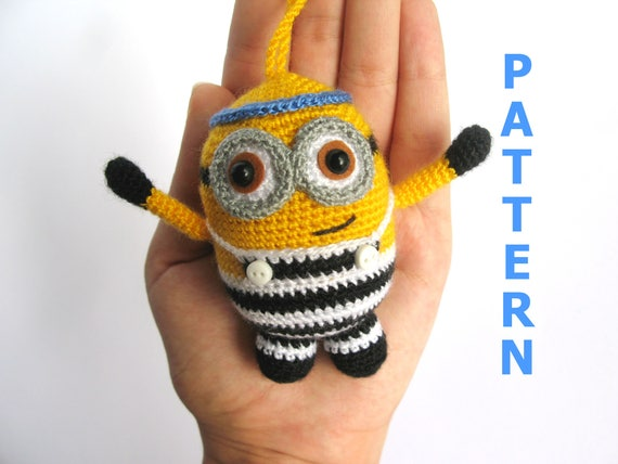 Crochet toy pattern easy crochet pattern minion crochet minions crochet toy pattern easy crochet pattern minion crochet minions pattern minions amigurumi minion plushie amigurumi pattern from hiltbynadiia on etsy studio dt1010fo