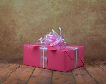 Classic Collection Gift Wrap Kit - Pink