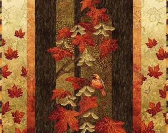 Maplewood, Northcott, Autumn Splendor, Wall hanging quilt kit