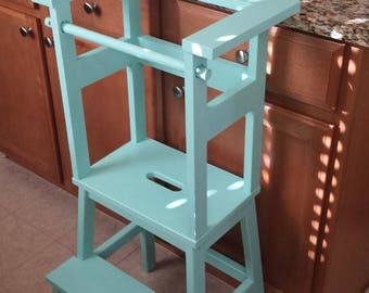 Little Helper Stools / Learning Tower / Toddler Step Stool / Activity Table