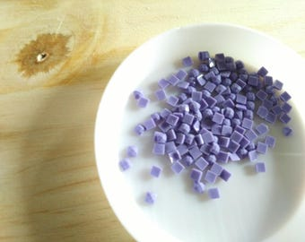 set of 100 purple number 155 DMC for painting, diamond painting diamond Rhinestones, embroidery