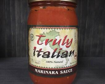 Vegan and Gluten free Marinara Pasta Sauce