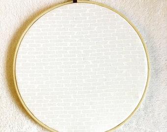 Pin Display Embroidery Hoop