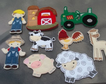 Farm  Days  Starter Set  Everything you need to start your own farm. Pretend Play. Gift.