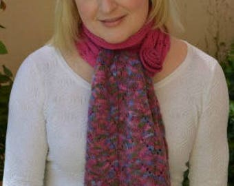 Elisia Lace Scarf Knitting Pattern