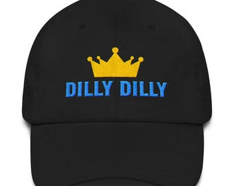 Dilly Dilly Crown Dad hat