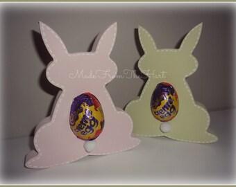Wooden Easter Bunny Egg Holders