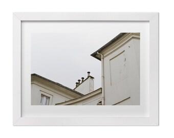 Paris Print, Paris Photography, Minimalist Art, Paris Architecture Art, Paris Bedroom Decor, Neutral Wall Art, Francophile Gift