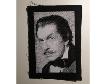 Vincent Price patch classic horror