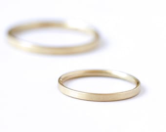 Simple Wedding Band, Thin Gold Band, Simple Gold Band, Dainty Wedding Band, Thin Wedding Band, Stacking Ring, Minimalist Wedding Ring