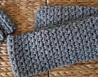 Child's scarf and ear warmer set