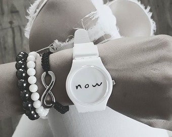 Now Watch, Eckhart Tolle, Be Here Now Watch, Now Watch Bracelet, Present Moment, Be Here Now Watch, Present Moment, Bracelets Watch