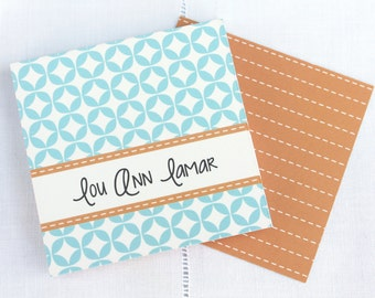Personalized Calling Cards / Gift Tags/ Family / Enclosure Cards / Lou Ann