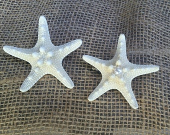 Starfish Barrette, Starfish Hair Accessories, Starfish Hair Clip, Mermaid Hair Clip, Beach Hair Accessories