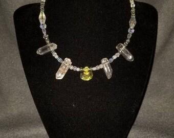 Crystal Mermaid Necklace