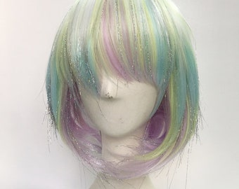 Land of the Lustrous diamond Cosplay wig Full Hair