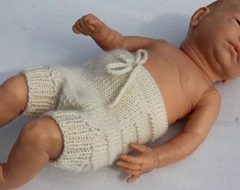 Wool Baby Seamless Soaker