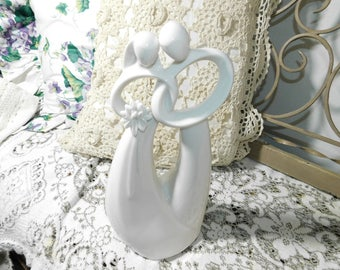 Circle of Love Forever Figurine By Enesco, Wedding, Wedding Decor, Wedding gift, Wedding Cake Decor, Anniversary Gift,:)s*
