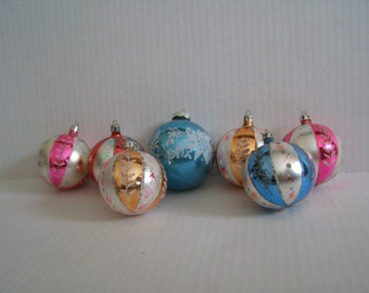 7 Vintage Christmas Tree Ornaments