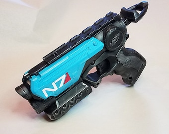 Mass Effect Inspired N7 Nerf Firestrike Steampunk Cosplay LARP Fallout  Gaming Time Traveler Crazy SciFi
