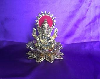 Ganesh Metal Showpiece