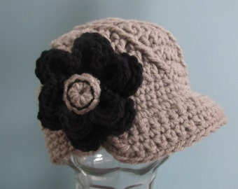 Twisted Newsboy Hat