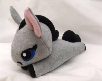 Grey Pony Plush