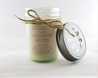 Scented Soy Candles: Summer Collection