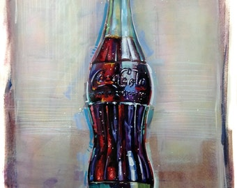 Coke Art Coca-cola painting sign