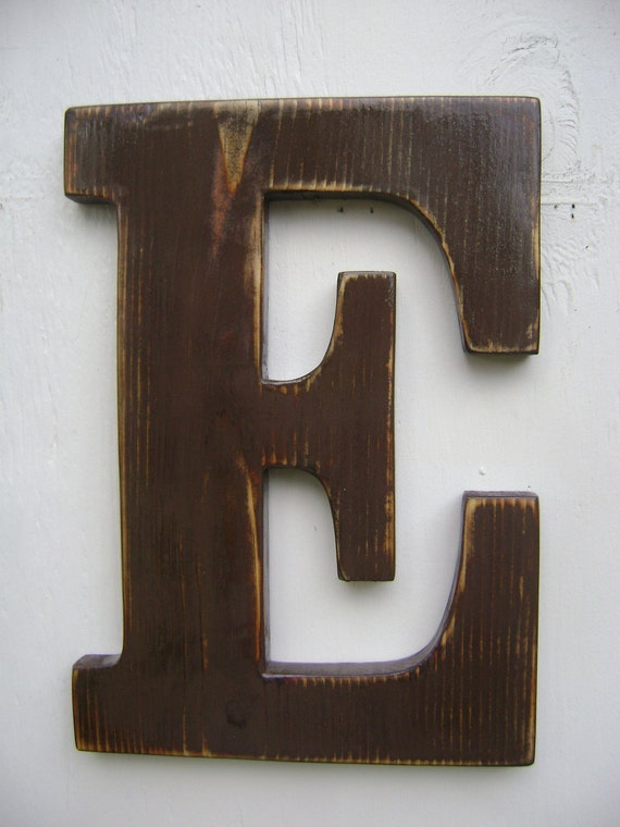 wooden wall letters items similar to wall sign rustic wooden letters decor 12 25680 | il 570xN.350182454