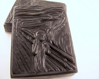 The Scream Soap Bar, Edvard Munch, Unique Gift