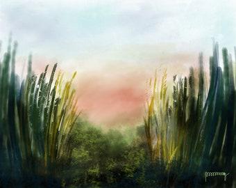Marshy Grass Blades