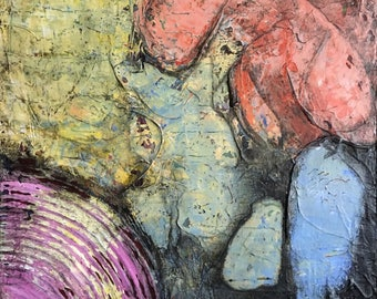 Abstract Painting Acrylic Painting Abstract Art Wall Art Artwork Original Colorful Modern Art