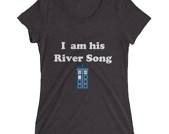 I am His River Song Ladies' short sleeve t-shirt