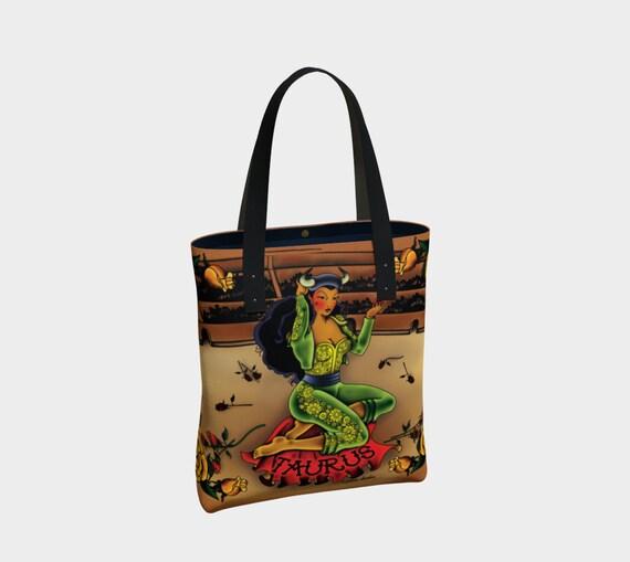 Taurus - Tattoo Premium Tote Bag