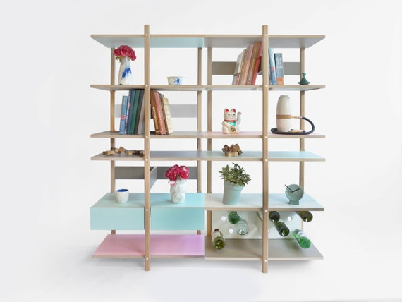 Superb Stacks Shelving Furniture   Multi Function Al Stackable Shelving   Open  Bookshelf   Bookcase   Box   Room Divider   Open Wall Furniture Seat Design Inspirations