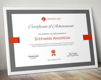 Certificate template etsy cheaphphosting Choice Image